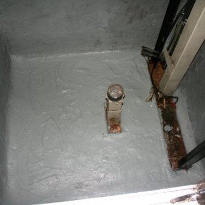 Impermeabilizar foso de ascensor