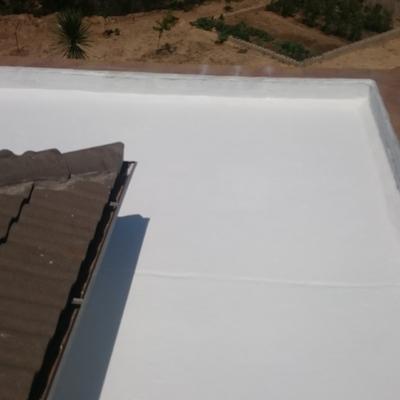 Restauración de terraza no transitable
