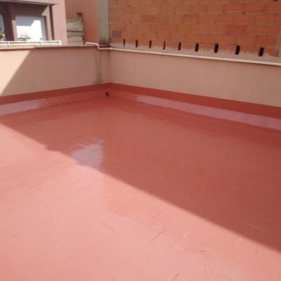 Impermeabilización de terraza en Badalona
