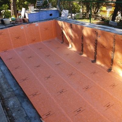Reparación  de impermehabilización de piscina