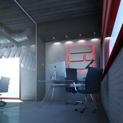 Infoarquitectura Edificio Rojo