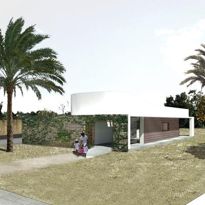 Vivienda bioclimática en la huerta de Murcia