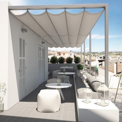 Ampliación de terraza y diseño de zona comedor chill out