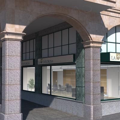 Infografias 3D Reforma Local Salamanca A3D Arq3Design