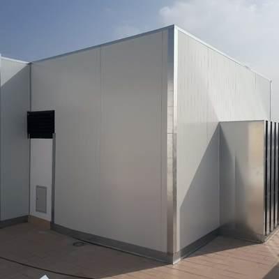 Instalación de habitáculo para insonorización de torres de refrigeración
