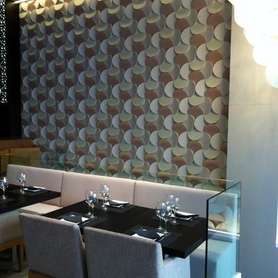 Insonorización y decorativos. Restaurante