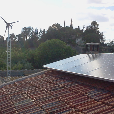 Instalación solar híbrida, Cieza