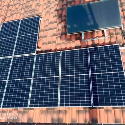 Instal·lació solar fotovoltaica a Cassà de la Selva