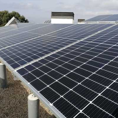Instal·lació solar fotovoltaica a Llambilles