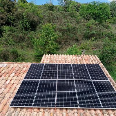 Instal·lació solar fotovoltaica a Sant Aniol de Finestres