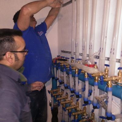 Mejora de calidad y presión de agua potable en 36 viviendas y 1 local