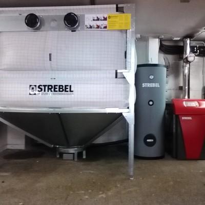 Calderas de biomasa Strebel