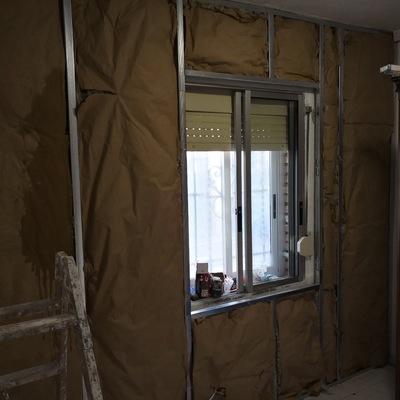 Aislamiento de paredes con problemas de humedad