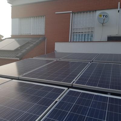 Instalación Fotovoltaica de Autoconsumo Eléctrico en Madrid