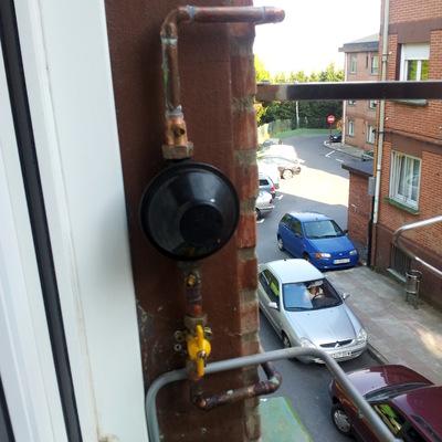 Instalación de Calefacción a Gas Natural en Barrio Txorierri,en Leioa.