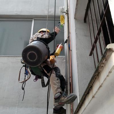 Instalación de Gas Natural en Sestao.