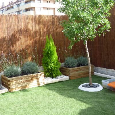 Instalación de Jardineras y plantas