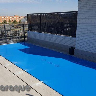Instalación de lona de piscina PVC en Pinto - Madrid