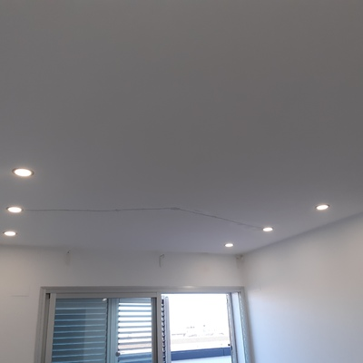 Instalación de luminarias