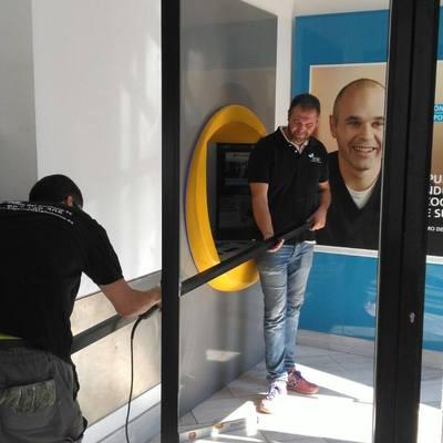 Rehabilitación de las oficinas de La Caixa en Madrid