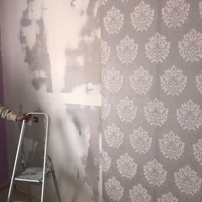 Trasdosado de muro por humedad.