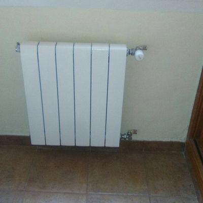 Instalación completa de calefacción y placa solar térmica