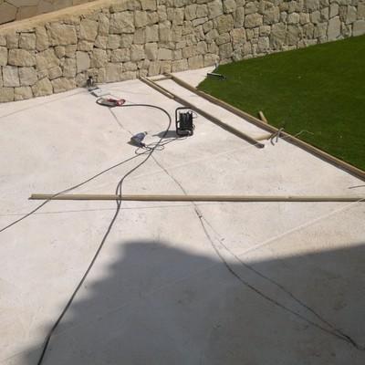 Instalacion Terraza Con Tarima Exterior IPE