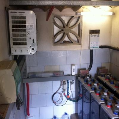 Instalación solar eléctrica.
