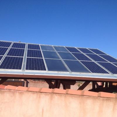 Instalación mixta-térmica-fotovoltaica