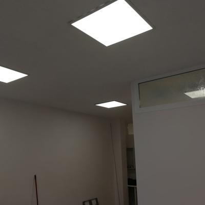 Instalación paneles led en techo escayola´pladur