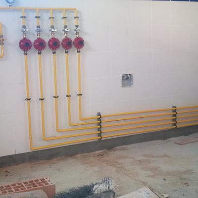 Instalación de gas en locales