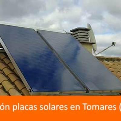 Instalación de placas solares para agua caliente sanitaria