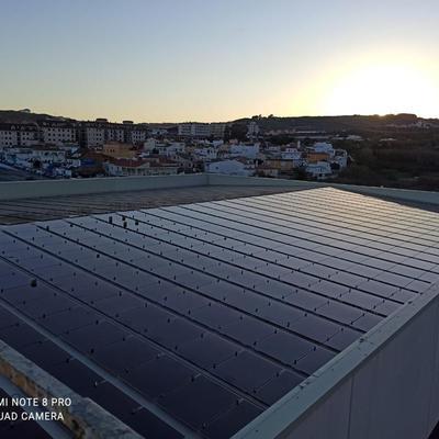 instalacion solar de 100 kw