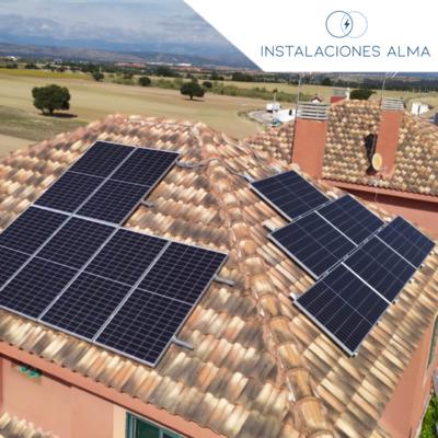 Instalación solar en Brunete