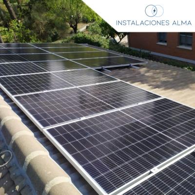 Instalación solar en Hoyo de Manzanares