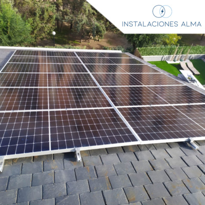 Instalación solar en Pinto