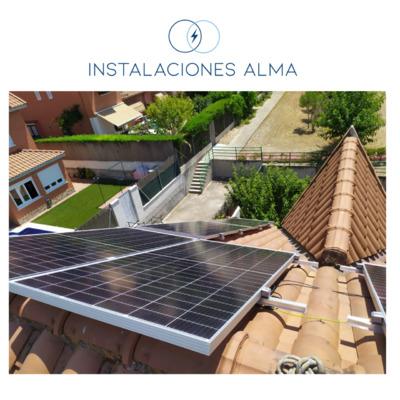 Instalación solar en Rivas Vaciamadrid