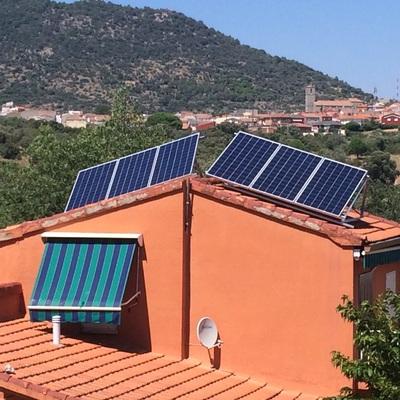 Ampliación y modificación de instalacion Solar aislada.