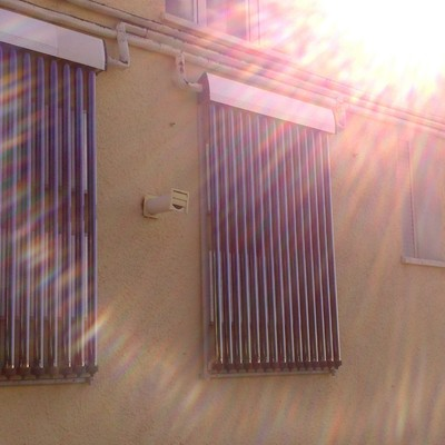 Instalación Solar Térmica Tubos De Vacio