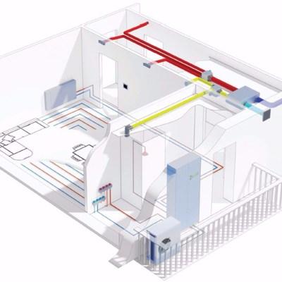 Instalación térmica y climática / Unidades central de acondicionamento / Bombas de calor / Sistemas Made in Italy