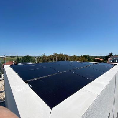 Instalación placas solares SUNPOWER