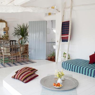 Interior casa estilo mediterráneo
