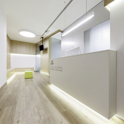 Interior clínica dental
