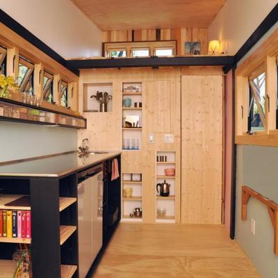 Interior cocina minicasa