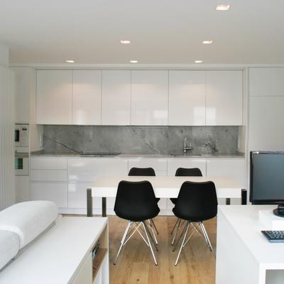 Una reforma que consigue espacios luminosos y bien orientados