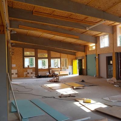 """Construcción de nueva planta de """"aula de convivencia"""" en Centro de Educación Infantil y Primaria"""
