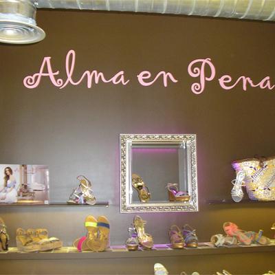 Interior expositor Alma en Pena