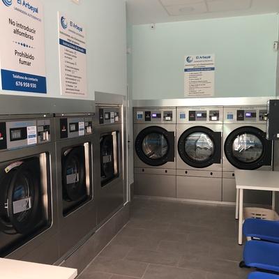 Interior lavandería