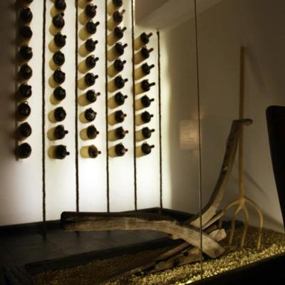 Interior local vinoteca
