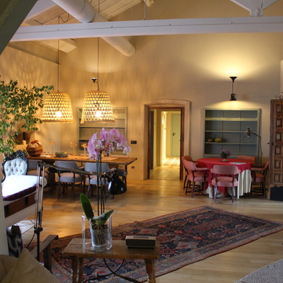 Interior salón 2 - Finca El Oliva
